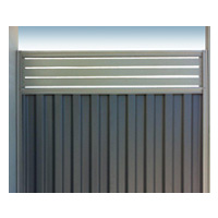 Tiger Colourbond Single Gate with Ali Slats