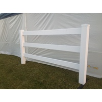 Tiger PVC Horse Railing Single Gate