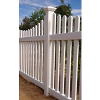 Tiger PVC Picket Fence Post & Cap